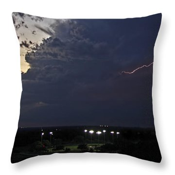 Looks Like Time To Call This Off Throw Pillow by Gary Holmes