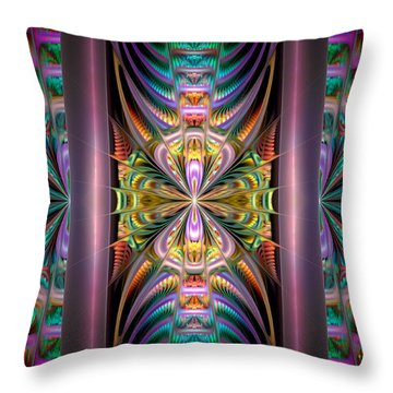 Loonie Behind Bars Throw Pillow by Peggi Wolfe