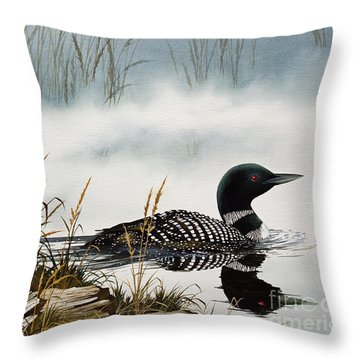 Loons Throw Pillows