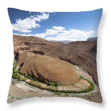 Aerial Perspective Throw Pillows Fine Art America