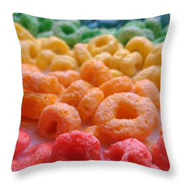 Loops Throw Pillow