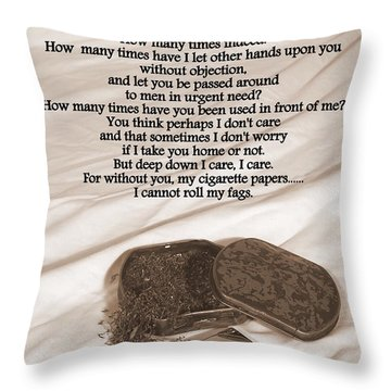 Loosely Speaking Throw Pillow