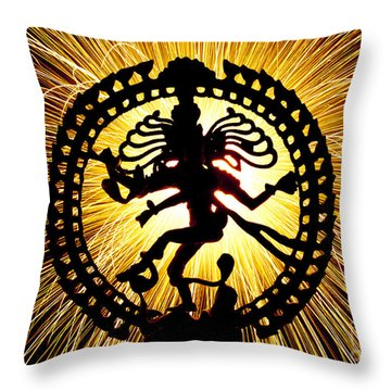 Lord Of The Dance Throw Pillow