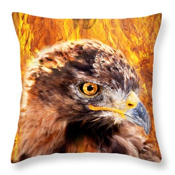 Lord Of The Last Day Throw Pillow