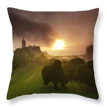 Lord Sun Throw Pillow