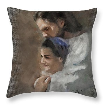 Lord's Love Throw Pillow