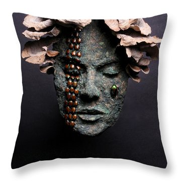 Lorelei Throw Pillow by Adam Long
