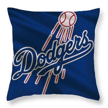 Los Angeles Dodgers Uniform Throw Pillow