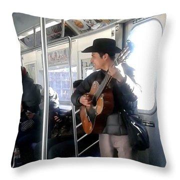 Troubadors Throw Pillow