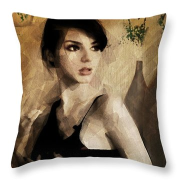 Losing August Throw Pillow