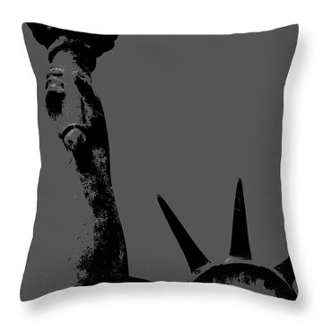 Losing Liberty Throw Pillow by Joe Jake Pratt