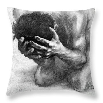 Loss Throw Pillow