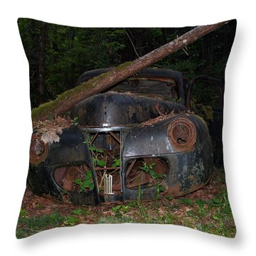 Throw Pillow featuring the photograph Lost 01 by Mark Alan Perry