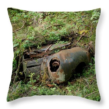 Lost 02 Throw Pillow by Mark Alan Perry