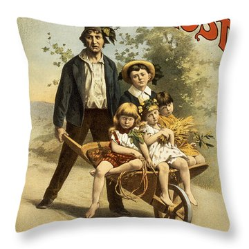 Lost Throw Pillow by Aged Pixel