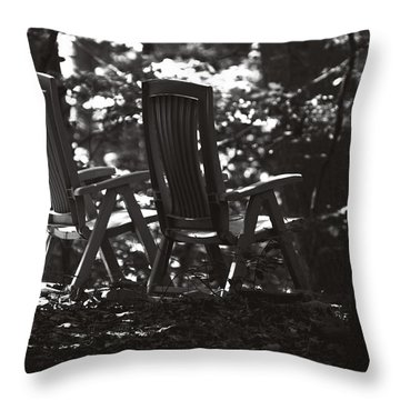 Lost And Found Throw Pillow by Rebecca Sherman