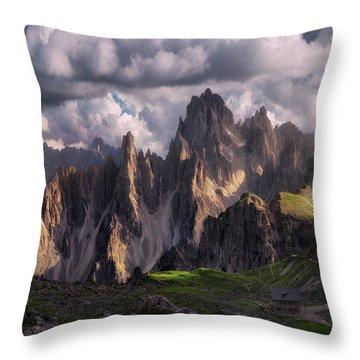 Hut Throw Pillows