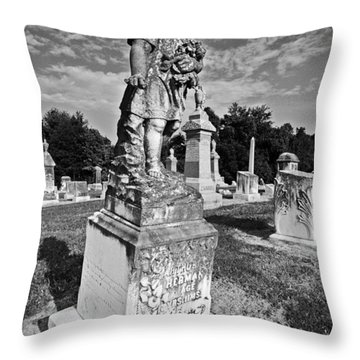 Lost Child Throw Pillow by Andy Crawford