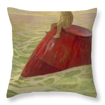 Lost Cira 1916 Throw Pillow by Aged Pixel