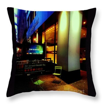 Lost Conversation Throw Pillow