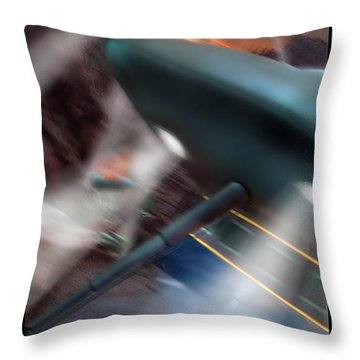 Lost Film Number 6 Throw Pillow by Mike McGlothlen