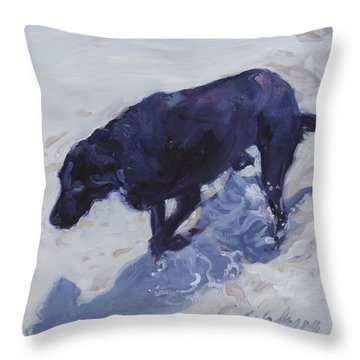 Lost In A Day Dream Throw Pillow