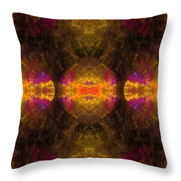 Throw Pillow featuring the digital art Lost In Colors by Hanza Turgul