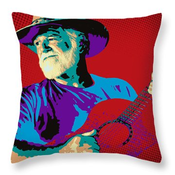 Jack Pop Art Throw Pillow