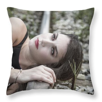 Lost In The Echo Throw Pillow