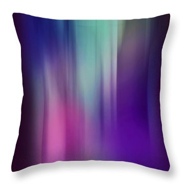 Lost In The Enchanting Forest  2 Throw Pillow by Jenny Rainbow
