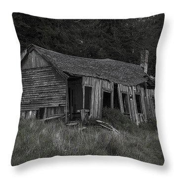 Lost In The Woods Throw Pillow by Garry Gay