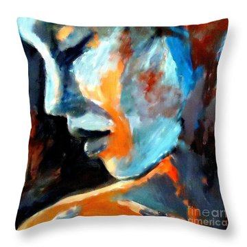 Lost In Time Throw Pillow by Helena Wierzbicki
