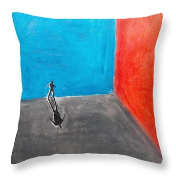 Lost Throw Pillow by Keshava Shukla