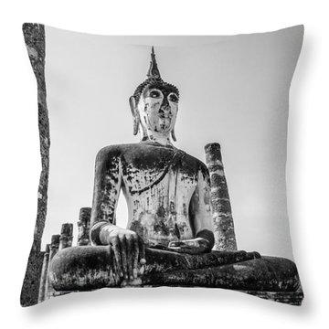 Lost Kingdom Throw Pillow by Tassanee Angiolillo