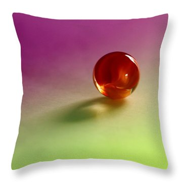 Lost Marbles  Throw Pillow by Tom Druin