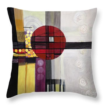 Lost My Marbles Throw Pillow
