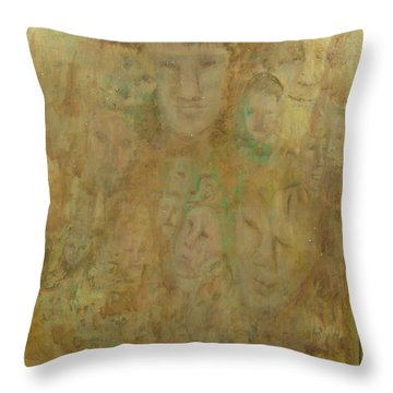 Lost Or Forgotten Throw Pillow by Catherine Hamill
