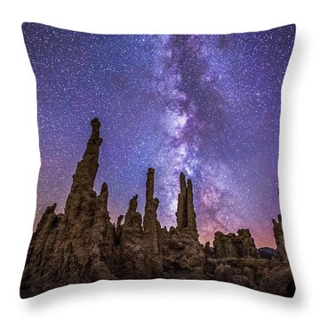 Lost Planet Throw Pillow by Tassanee Angiolillo