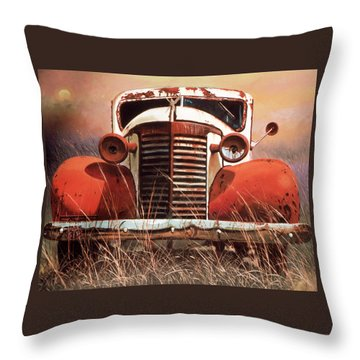 Lost Power Restored Throw Pillow by Blue Sky