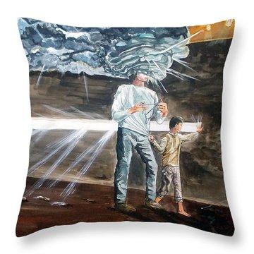 Lost Sometimes Throw Pillow by Lazaro Hurtado