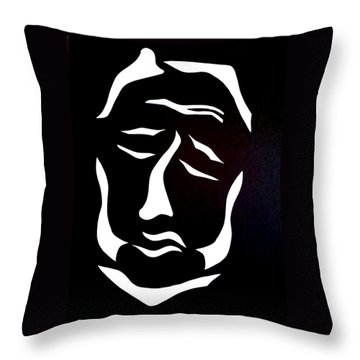Throw Pillow featuring the digital art Lost Soul by Delin Colon