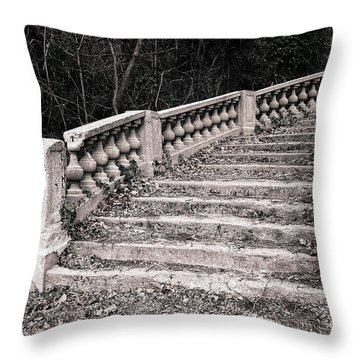 Lost Staircase Throw Pillow by Olivier Le Queinec