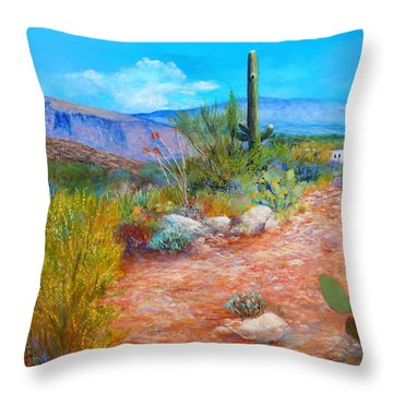 Lot For Sale 2 Throw Pillow by M Diane Bonaparte
