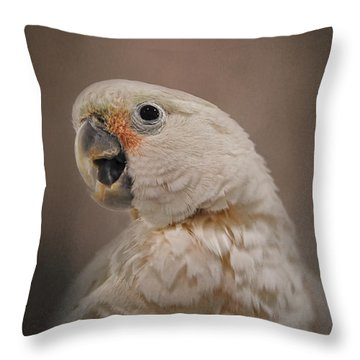 Lots To Say Throw Pillow by Jai Johnson