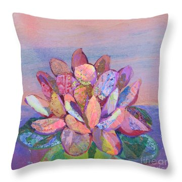 Lotus II Throw Pillow
