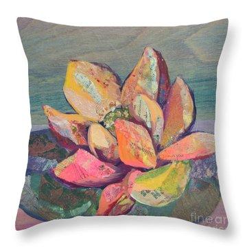 Lotus IIi Throw Pillow