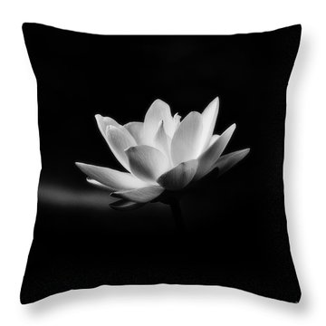 Lotus - Square Throw Pillow