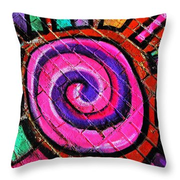 Loud Throw Pillow by Chris Berry