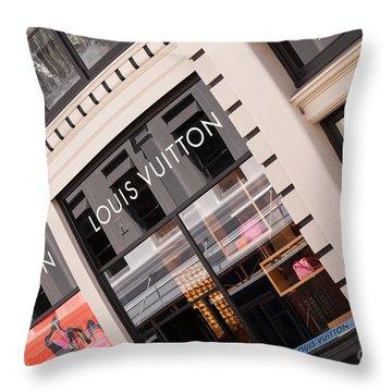 Louis Vuitton 02 Throw Pillow