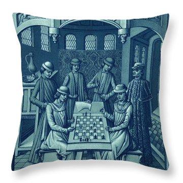 Louis Xi Throw Pillow by Granger